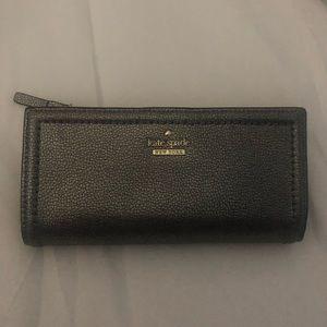 Metallic Kate spade wallet